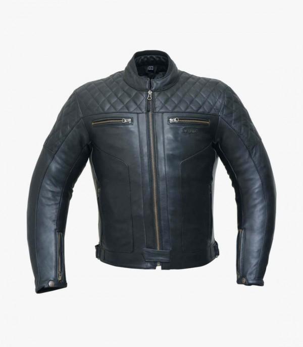 Degend Classic Black Leather Jacket CLASSIC
