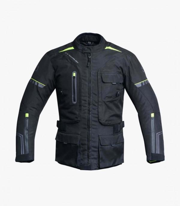 Degend Adventure 4 Season Black/Fluor 2/4 Textile Jacket