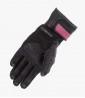 Guantes racing de mujer Belen de Rainers en color negro y rosa