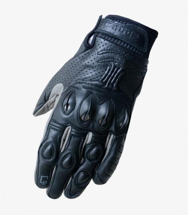 Men's Summer Gloves Degend L.A. Black and Grey