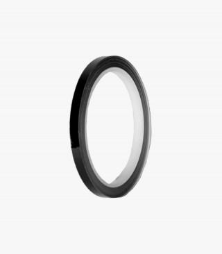 Black motorcycle rim tapes by Puig