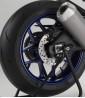 Tira adhesiva símil carbono Puig para llanta de moto