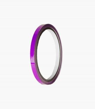 Tira adhesiva violeta Puig para llanta de moto