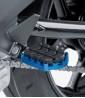 Estriberas Enduro de Puig para moto en color azul 7587A