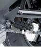 Estriberas Enduro de Puig para moto en color plata 7587P