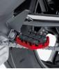 Estriberas Enduro de Puig para moto en color rojo 7587R