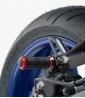 Estriberas R-Fighter S de Puig para moto en color rojo