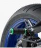 Estriberas R-Fighter S de Puig para moto en color verde