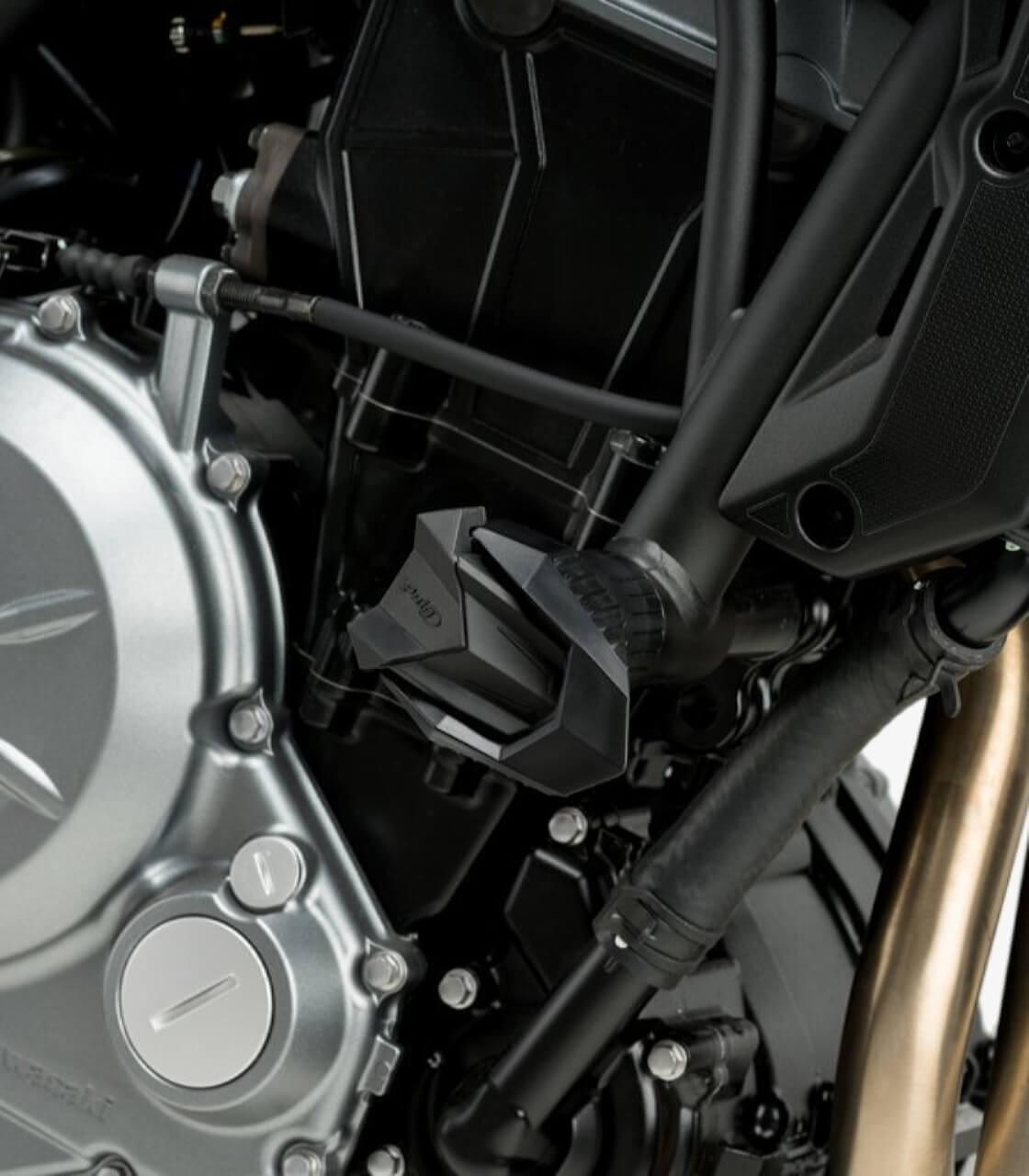 black pair Motorbike Motorcycle Puig Bar End MirrorMP Suzuki GSX-S 125 2017
