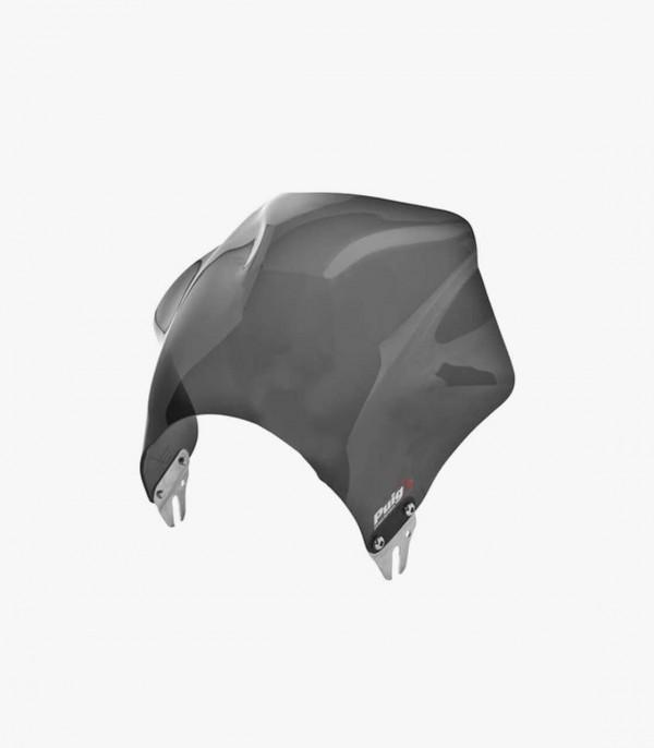 Cúpula Corta Puig modelo Raptor para Faro Redondo color Ahumado Oscuro