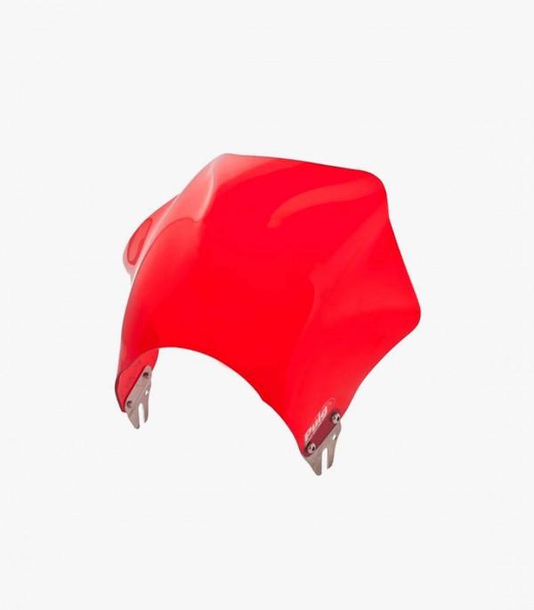 Cúpula Corta Puig modelo Raptor para Faro Redondo color Rojo