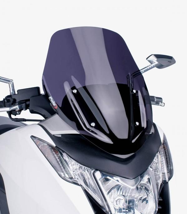 Pantalla Puig modelo V-Tech Line Sport para Maxiscooters color Ahumado oscuro 6283F