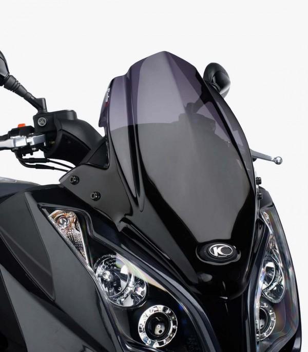 Pantalla Puig modelo V-Tech Line Sport para Maxiscooters color Ahumado oscuro 5522F