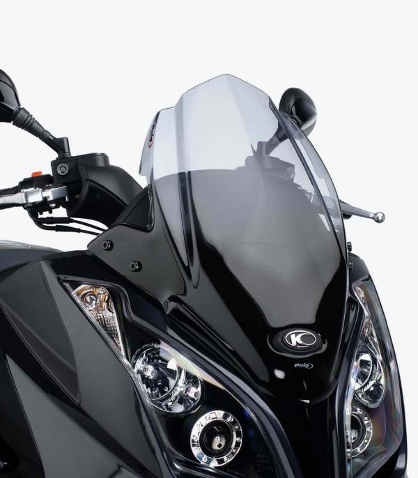 Pantalla Puig modelo V-Tech Line Sport para Maxiscooters color Ahumado 5522H