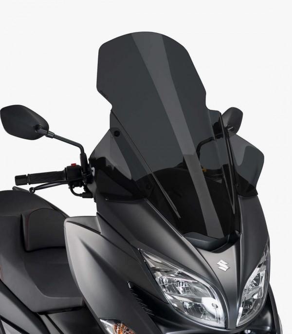 Pantalla Puig Suzuki Burgman 400 2017 V-Tech Line Touring Ahumado oscuro 9973F