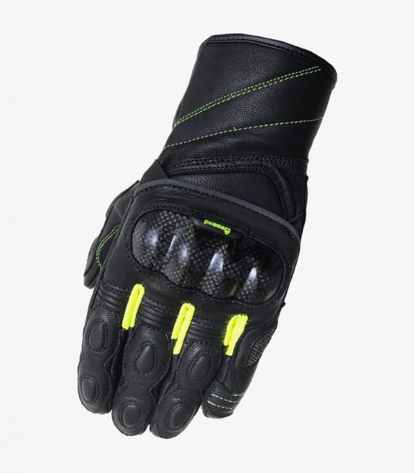 Men's summer Gloves Degend R-2000 Black and Yellow