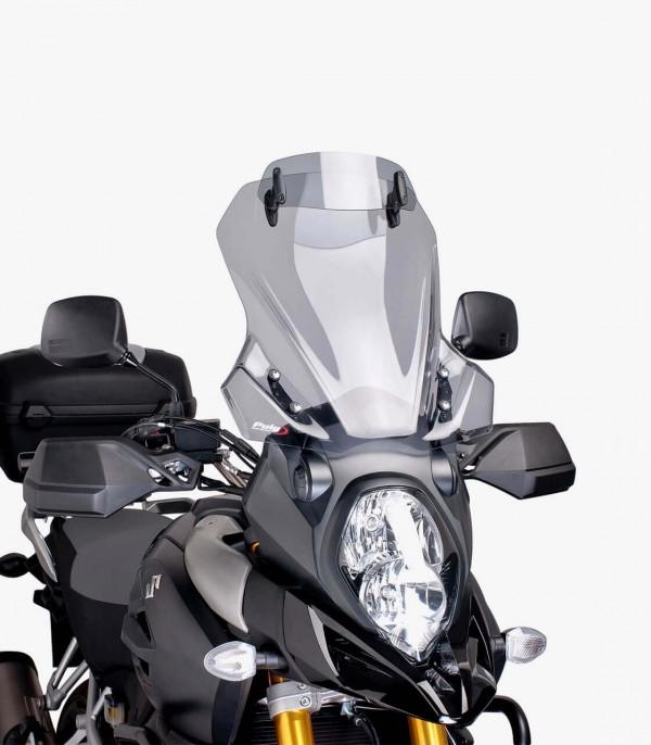 Cúpula Puig Touring con Visera Suzuki DL1000/XT V-Strom Ahumado 7230H