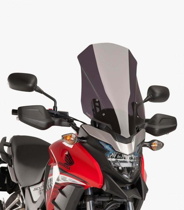 Cúpula Puig Touring Honda CB500X Ahumado oscuro 8901F