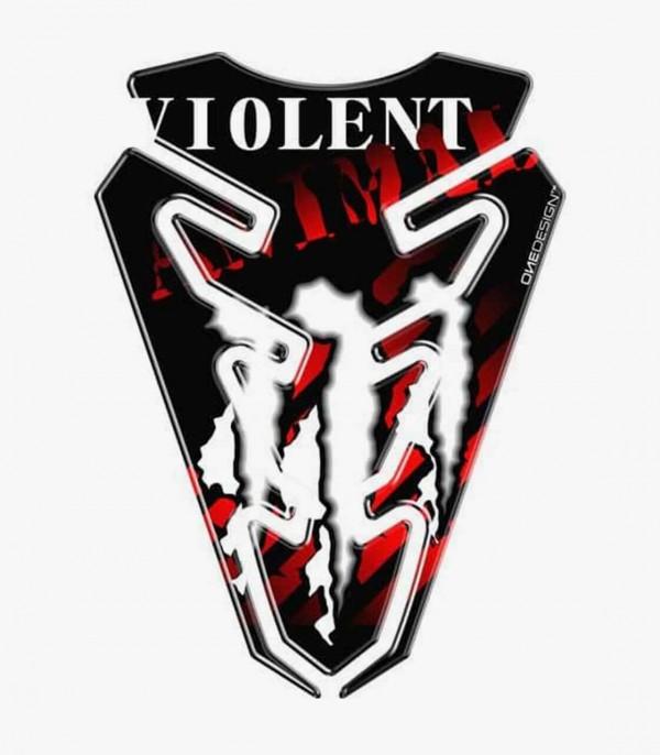 Protector depósito Puig Violent Rojo