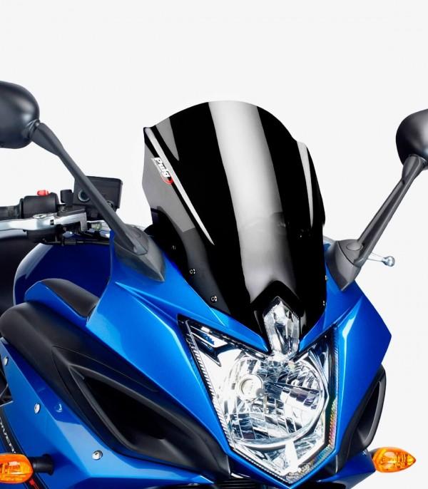 Cúpula Puig Racing Yamaha XJ6 Diversion F Negro 5547N