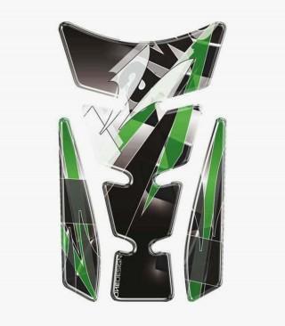 Puig Black Tank Pad model Wings Kawasaki