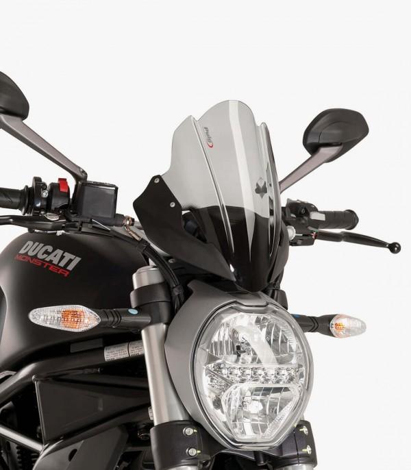 Cúpula Puig Naked New Generation Touring Ducati Monster 797/821/1200 R/S Ahumado 8900H