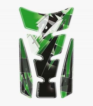 Puig Green Tank Pad model Wings Kawasaki