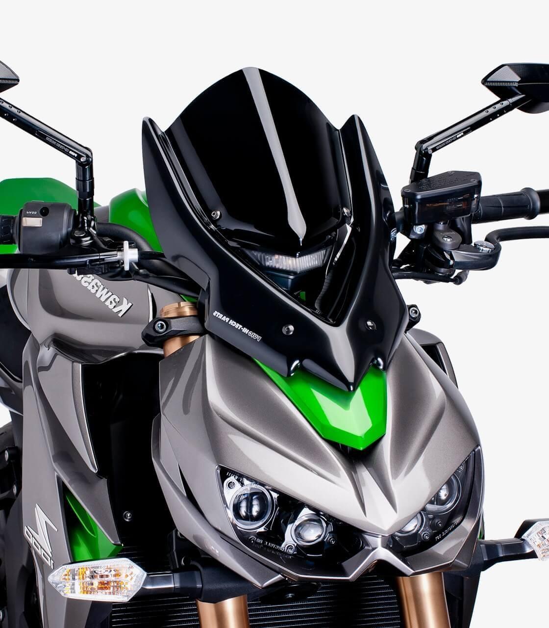 Kawasaki Z750/R Puig Naked New Generation Sport Black