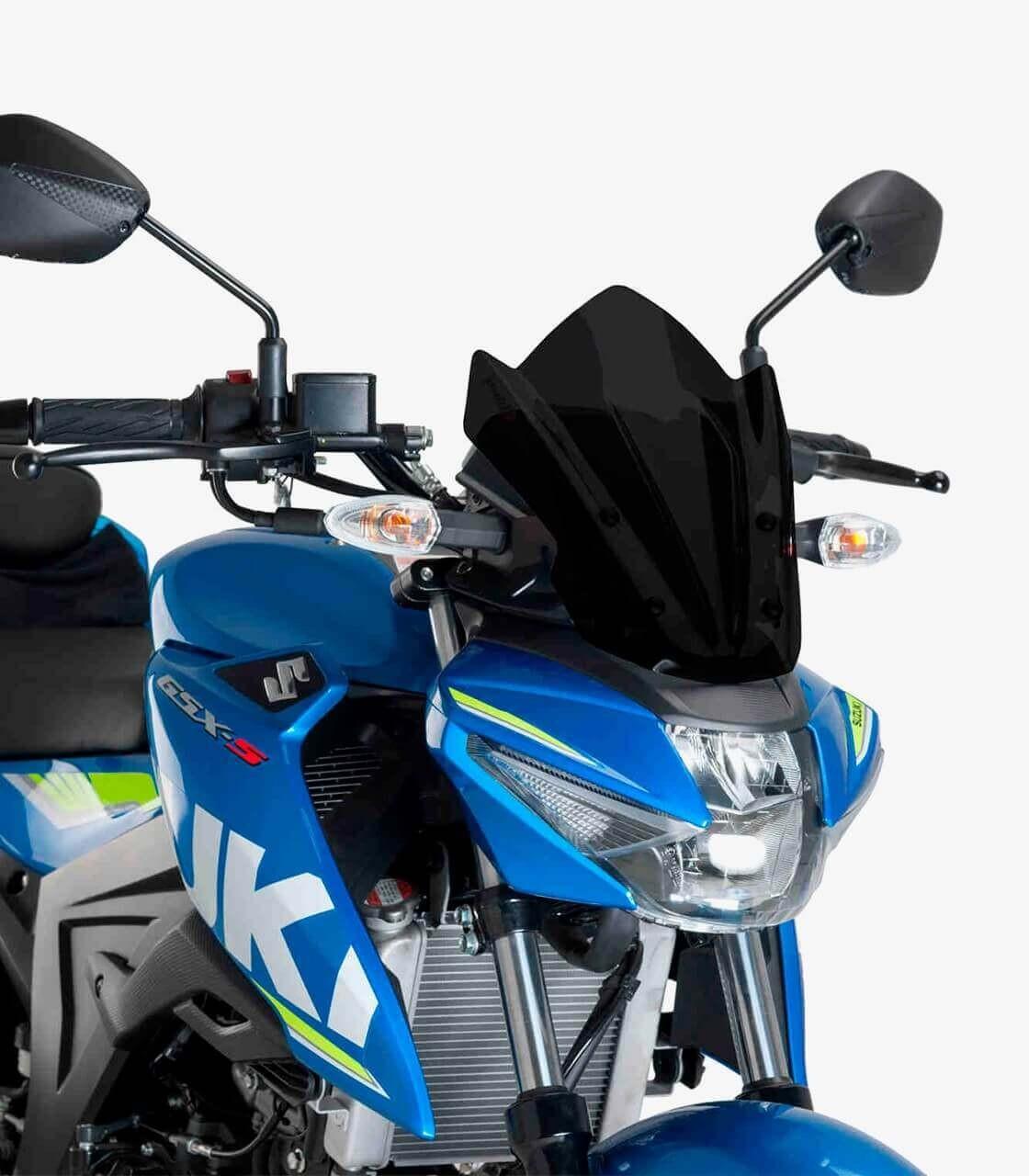 Suzuki GSX-S125 Puig Naked New Generation Sport Blue