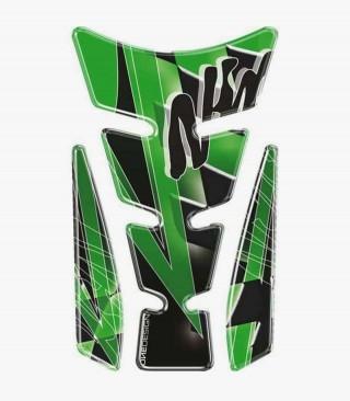 Puig Green Tank Pad model Wings Ninja
