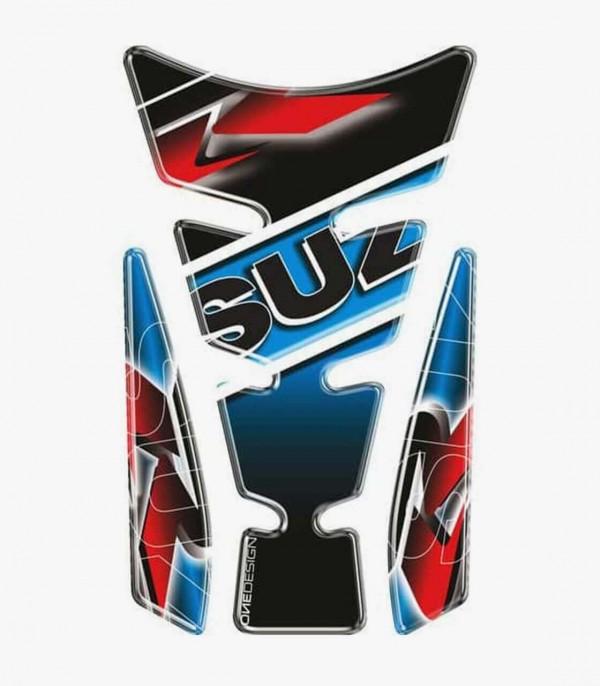 Protector depósito Puig Wings Suzuki Azul 4724A