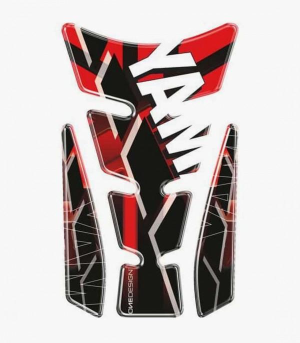 Protector depósito Puig Wings Yamaha Rojo
