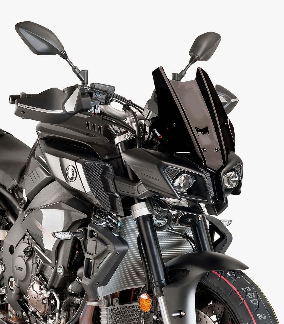 Yamaha Mt 10 Mt 10 Sp Puig Racing Black Windshield 8917n