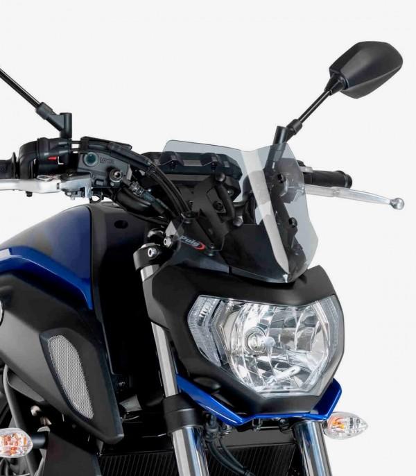Cúpula Puig Naked New Generation Sport Yamaha MT-07 Ahumado 9666H