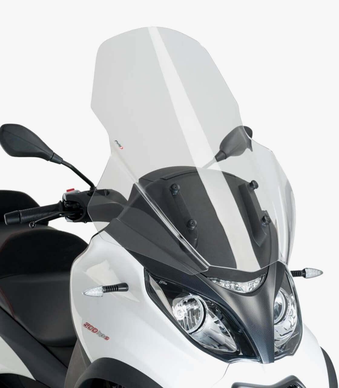 Piaggio MP3 350/500 HPE Puig V-Tech Line Touring Transparent Windshield  1666W