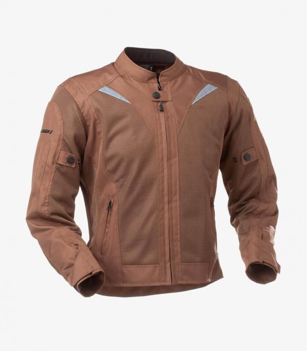 Riverside Brown For Men Summer Motorcycle Jacket By Rainers
