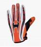 Guantes Naranjas de Motocross y Enduro Shiro MX-01