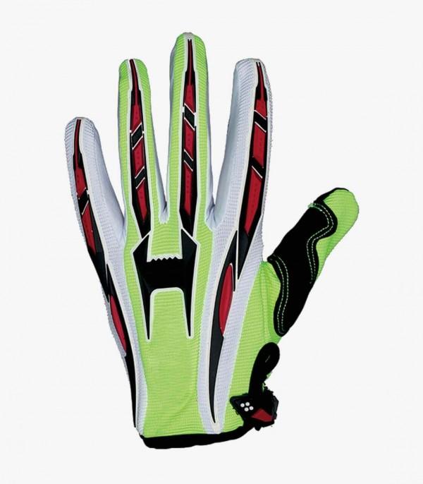 Shiro MX-01 Yellow Fluor Motocross & Enduro Gloves