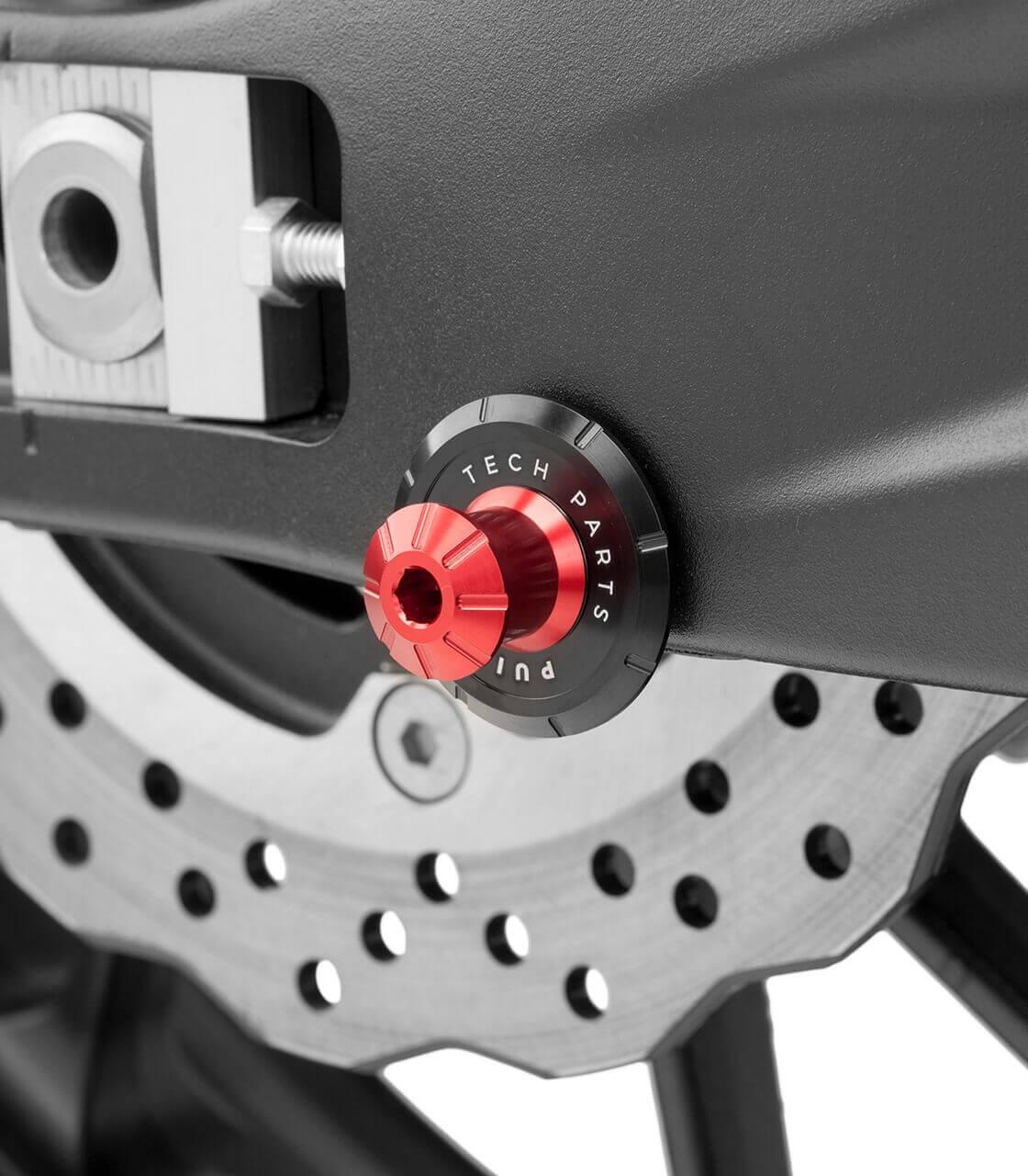 Pair Puig 5922R Red Hi-Tech Spool