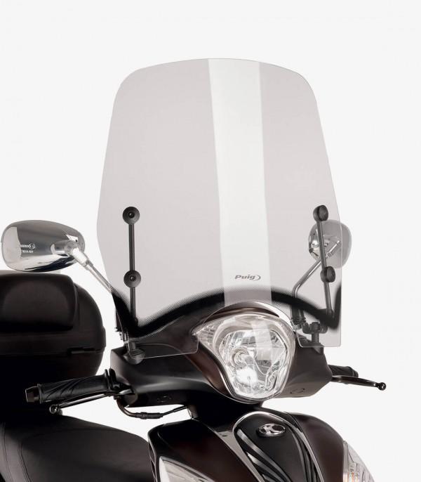 Parabrisas Puig modelo T.S. Kymco Miler 125 color Transparente 9503W