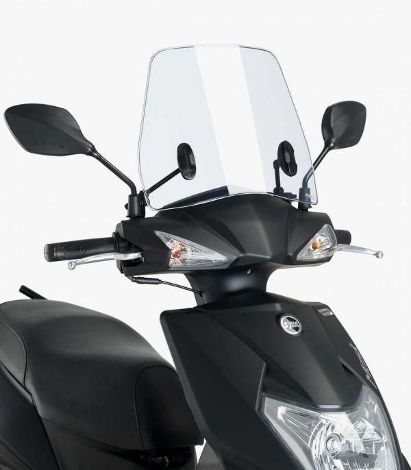 Parabrisas Puig modelo Trafic SYM Mask 125 color Transparente 9792W