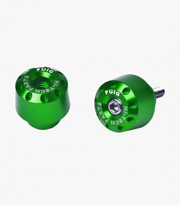 Contrapesos Cortos Puig color Verde para Honda CB, CBF, CBR, Integra, NC700/750/S/X, VFR, VTR