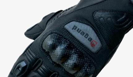 Dual-sport motorcycle gloves