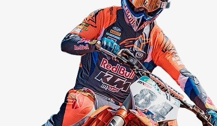 Ropa y equipación de motocross y enduro
