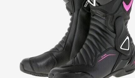 Botas de moto de mujer